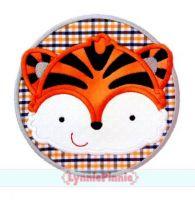 Tiger Circle Applique 4x4 5x7 6x10 7x11 SVG
