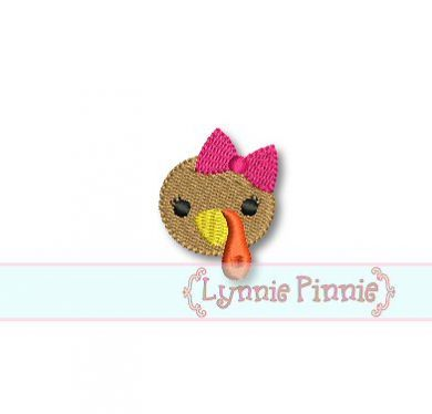 Mini Girl Turkey Face 4x4