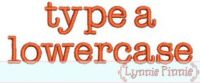 Type A Embroidery Font - 2 sizes 4x4