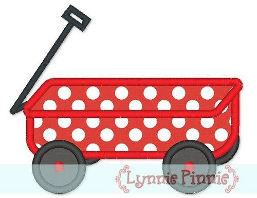 Wagon Applique 4x4 5x7