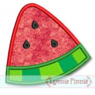 Watermelon Wedge Applique 4x4 5x7 6x10 SVG