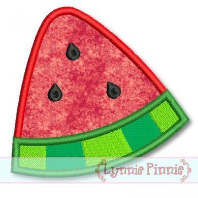 Watermelon Wedge Applique 4x4 5x7 6x10 SVG