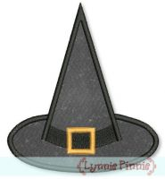 Applique Witch's Hat 4x4 5x7