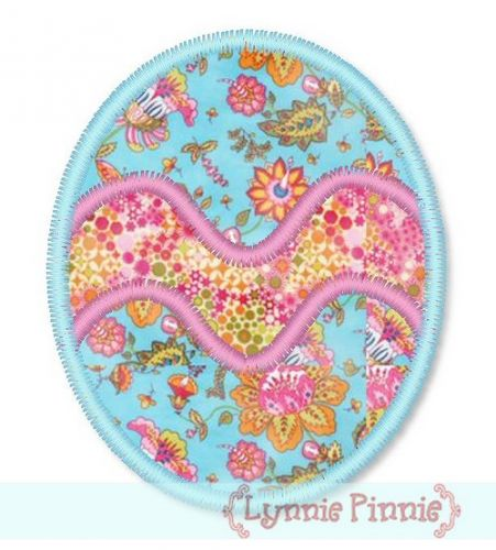 Free Zig Zag Easter Egg Applique 4x4 5x7 Welcome To Lynnie Pinnie