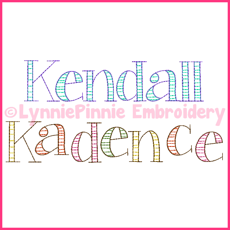 Embroidery Fonts, Numbers, and Frames - Welcome to Lynnie Pinnie.com ...