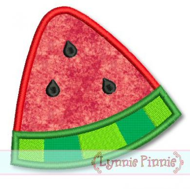 Watermelon Wedge Applique 4x4 5x7 6x10 SVG - Welcome to Lynnie